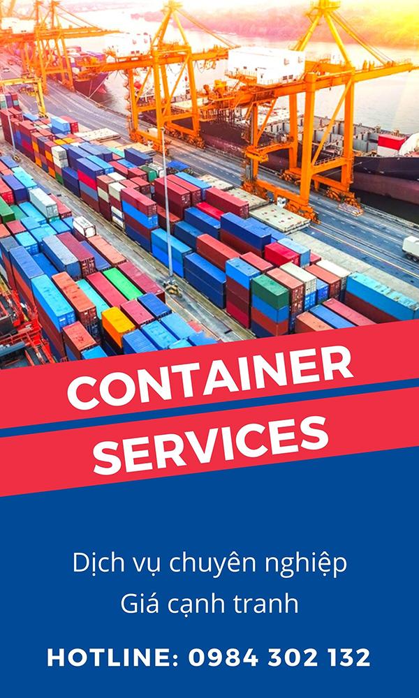 Dịch vụ container chuyên nghiệp tại Bắc Ninh, Bắc Giang
